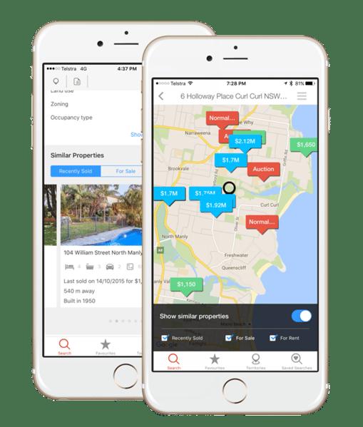RP Data Pro Mobile App