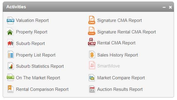 CoreLogic RP Data Reports
